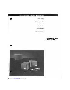 Bose Acoustimass 3 Series Iii Manuals