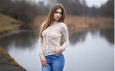 see through clothes for wallpaper portrait lake outdoors see