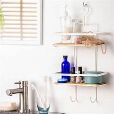 scaffale bagno loft scaffale da bagno nero bianco h 38 5 x w 25 x d 11 cm