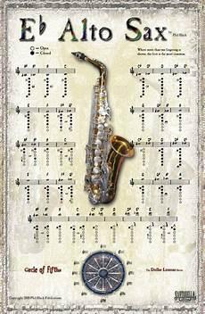 Beginner Alto Saxophone Finger Chart 15 Best Images About Music Alto Sax On Pinterest
