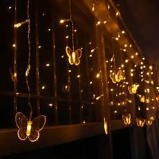 String Lights Fairy Lights 5m 3 5m Led Curtain Butterfly String Light Fairy Lights