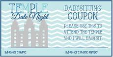Babysitter Sign Up Activity Day Ideas Temple Date Night Sign Up Sheet