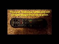 Comcast Remote Green Light How To Program Comcast Xr2 Remote To Sony Tv Youtube