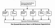 Centralized Organizational Chart Business Organization Structures