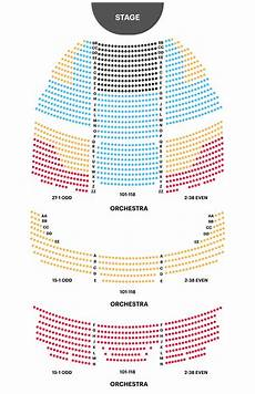 Engeman Theater Seating Chart Gershwin Theater Seating Chart Get The Best Seats For Wicked