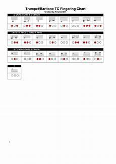 Trumpet Baritone Tc Chart Printable Pdf Download