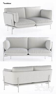 Sofa For Two 3d Image by 3d Models Sofa Andtradition Cloud 2 Seater Sofa