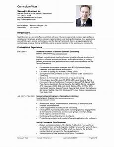 Us Resume Top 10 Cv Resume Example Resume Example Pinterest