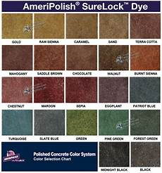 Stained Concrete Colors Chart Concrete Stain Concrete Resurfacing Systems