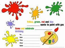 Free Birthday Invitation Templates Kids Free Birthday Invitations To Print For Kids Choose Your Theme