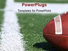 Football Powerpoint Template Powerpoint Template American Collegiate Football On A
