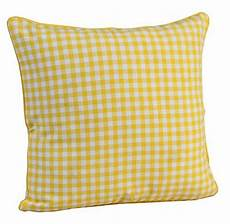 homescapes 100 cotton gingham check large cushion