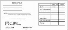 Deposit Slip Templates Printable Free Deposit Slip Template And Examples For Bank