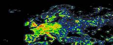 World Light Map Dark Sky Map Of Australia And New Zealand 8215x4727