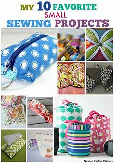 my 10 favorite small sewing projects newton custom interiors