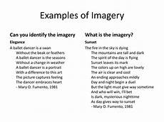 Imagery Poetry Ppt Imagery Figurative Language In Poetry Powerpoint
