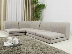 low height sofa modern low profile sectional sofa in white