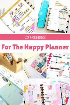 Free Printable Planner Pages Happy Planner Free Printables That Are Incredibly Awesome