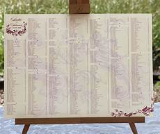 Wedding Reception Table Seating Chart Wedding Reception Table Seating Charts Invitations By Ajalon