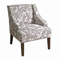upholstered accent chairs with arms shop fabric upholstered wooden accent chair with swooping