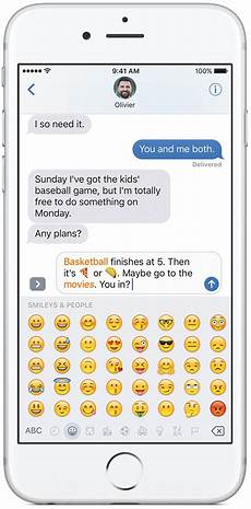 Emoji Texts Ios 10 Preview Messages Does Stickers Apps Animations