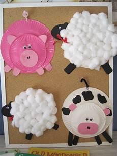 early language skills through play farmyard craft
