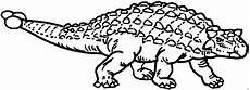 gepanzerter dino ausmalbild malvorlage tiere