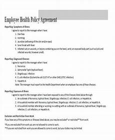 Employee Agreement Form Free 40 Agreement Forms In Pdf Ms Word