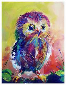 Colorful Owl Art Colorful Owl By Toomuchcolor On Deviantart