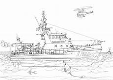 Ausmalbilder Polizeiboot Schiffe 3 Ausmalen