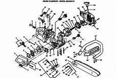 Craftsman 358352161 Parts List And Diagram