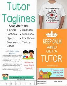 Catchy Tutoring Slogans Tutor Tag Lines Marketing Tool The Tutor Coach