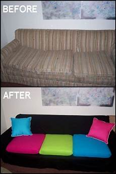 How To Make A Cover Sheet For A Paper Diy Couch Makeover Use Sheet To Cover Couch And Sew Slip