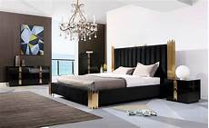 Black And White Modern Bedrooms Black And Gold Bed Vg 259 Modern Bedroom Furniture