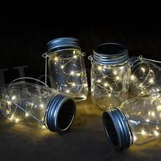 Fairy Lights In Glass Cylinder 1m 2m Led Mason Jar Fairy Light With Color Changing Or