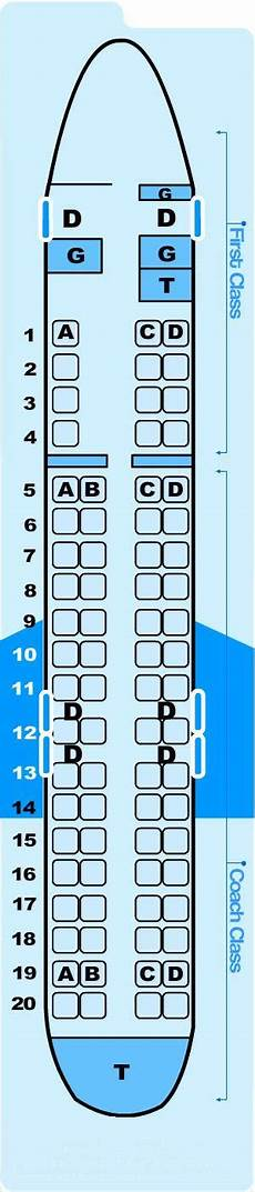 Delta Crj 900 Seating Chart Seat Map Northwest Airlines Jet Airlink Bombardier Cr9 Cm9