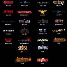 Superhero Movie Chart The Vision Marvel