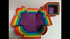 and craft explosion box rainbow explosion