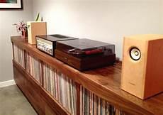 custom record stereo cabinet on behance