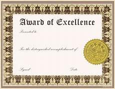 Free Award Certificate Pdf Print Template Award Certificates