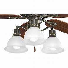 Basketball Ceiling Fan Light Kit Progress Lighting 3 Light Branched Ceiling Fan