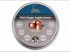 H&N Field Target Trophy Power Copper Plated, .177 Cal, 8