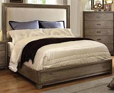 antler ash cal king bed from furniture of america