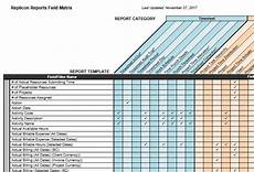 Reporting Matrix Template Reports Field Matrix Replicon
