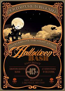 Word Halloween Templates I Do On A Dime Free Halloween Invitation Template