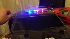 1 10 Police Light Bar Rc Police Led Bar Kit Youtube