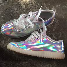 Holographic Light Up Shoes Urban Outfitters Shoes Holographic Light Up Sneakers