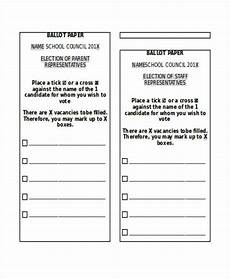 Voting Ballot Template For Word 18 Paper Templates In Word Free Amp Premium Templates