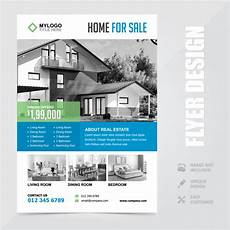 Home Sale Flyer Template Real Estate Home Sale A4 Flyer Brochure Design Template