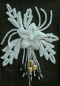macrame flower macrame flower pendant